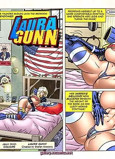 pics Superheroine Central- Laura Gunn, big boobs , big cock