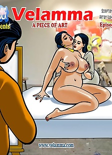 pics Velamma 62- A Piece of Art, big boobs , threesome