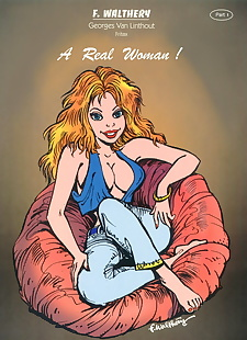 english pics A Real Woman #1, full color , gender bender