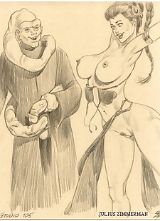 pics Collected artwork of Julius Zimmerman, batgirl , black cat , bondage , tomb raider  aladdin