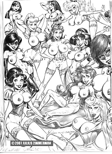 pics Collected artwork of Julius Zimmerman.., jessica rabbit , jasmine , yuri , star wars  aladdin