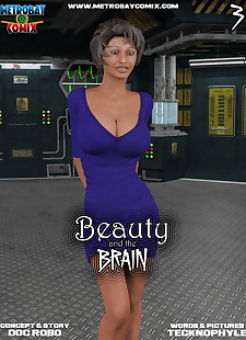 pics Metrobay- Beauty and the Brain #3-.., 3d , big boobs