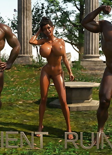 pics Chat-Bleu- Ancient Ruins Part 2, 3d , big boobs