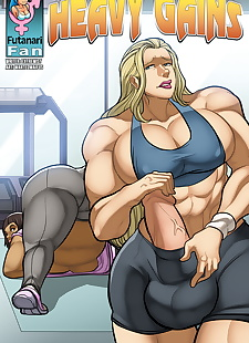 pics Futanari Fan- Heavy Gains, big boobs , big cock