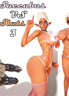 pics Hurator- Succubus Vs Sluts 3, 3d , big boobs