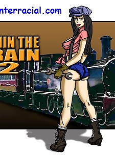 pics Runin A Train 2- illustrated interracial, blowjob , hardcore