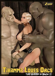 pics Zzomp- Tihanna loves Orcs Queen Is Back, 3d , big cock