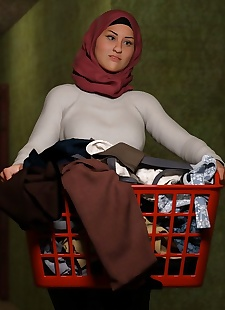 pics Naughty Hijab 3DX- Good Wife-.., 3d , big boobs