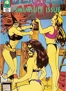 english pics Amazing Spoof Heroes Swimsuit Special #4, XXX Cartoons