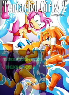 pics Tentacled girls! 2 TheKingYoshi, amy rose , rouge the bat , anal , full color