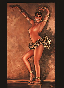 pics Art Fantastix - #01 The Art of Olivia.., bettie page , full color