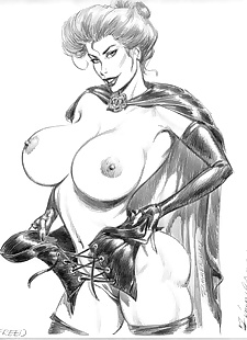 pics Collected artwork of Julius Zimmerman, jessica rabbit , lady death , tomb raider , star wars  aladdin