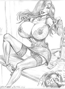 pics Collected artwork of Julius Zimmerman.., jessica rabbit , lara croft , tomb raider , yuri