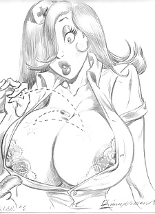 pics Collected artwork of Julius Zimmerman.., jessica rabbit , lara croft , tomb raider , yuri  big-breasts