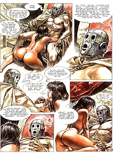 english pics Druuna 7 - The Forgotten Planet - part 2, druuna , full color