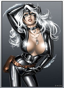 pics Black Cat - Spiderman, black cat , catwoman , group , yuri