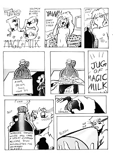 english pics Jug of Magic Milk, XXX Cartoons