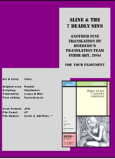 english pics Aline & The 7 Deadly Sins, XXX Cartoons