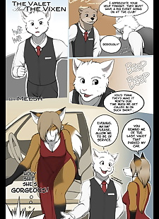english pics The Valet and the Vixen Chapter 1, full color , furry