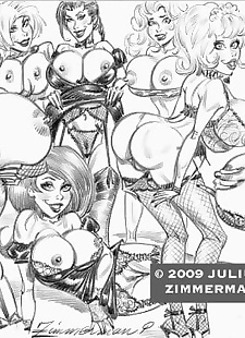 pics Collected artwork of Julius Zimmerman.., betty rubble , cheetara , tomb raider , yuri  peter-pan
