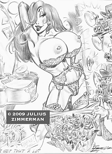 pics Collected artwork of Julius Zimmerman.., betty rubble , cheetara , tomb raider , yuri