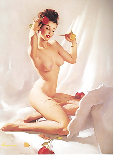 pics Pin-ups by Gil Elvgren, full color