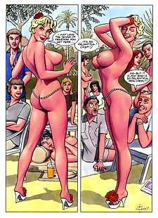 english pics A Saucy Vikki Belle Romp 2: Riviera.., full color , glasses