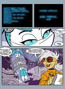 english pics comic my life as a teenage robot, jenny wakeman - xj-9 , full color , futanari