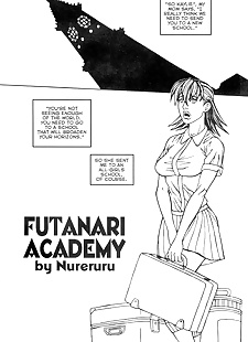 english pics Futanari Academy, double penetration