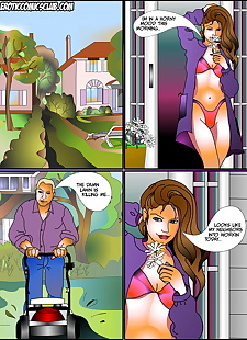 pics Lucky Neighbor, XXX Cartoons