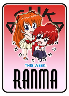 pics Asuka and Friends - Ranma, asuka langley soryu , ranma saotome , gender bender , yuri