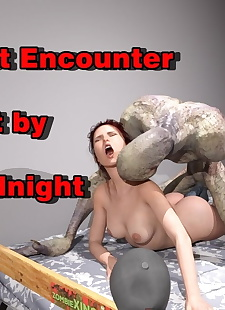 pics 3DMidnight- Kates First Encounter, 3d , big cock