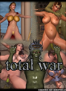 pics Amazons and Monsters- Total War, 3d , big boobs